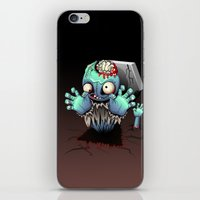 Zombie Monster Cartoon Doll iPhone & iPod Skin
