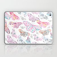 Marbling Butterflies Laptop & iPad Skin