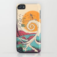 iPod Touch Cases featuring Surf Before Christmas by Victor Vercesi
