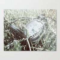 First Frost Of Winter Canvas Print