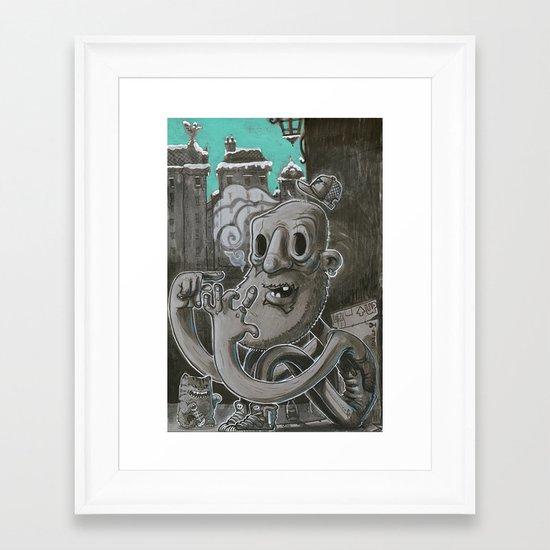 F.U.C.K Framed Art Print