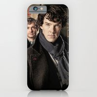 iPhone & iPod Case featuring Sherlock  by SRB Productions