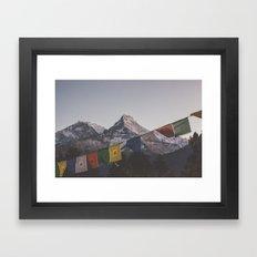 Nepal XVII Framed Art Print