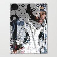Lski Anchor Canvas Print