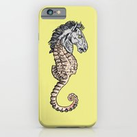 iPhone & iPod Case featuring evil horse by bloodpurple