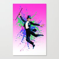 Astaire Fred, still dancing. Canvas Print