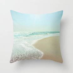 Good Morning Beautiful Sea Throw Pillow