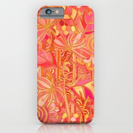 Drawn into the Garden iPhone & iPod Case
