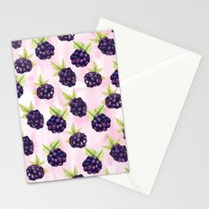 Blackberries Stationery Cards