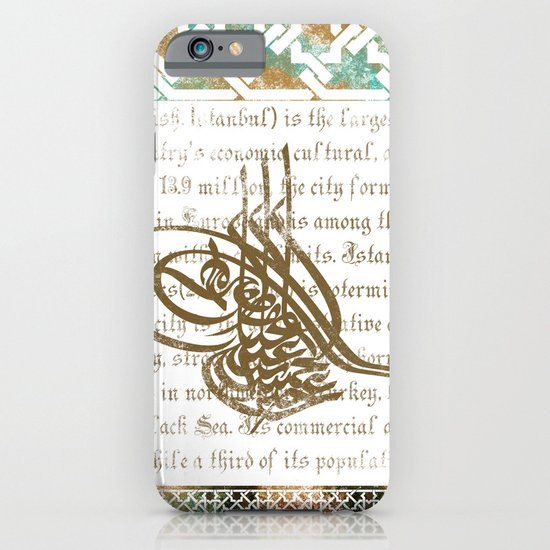 Ottoman Iphone Case