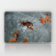 Autumn Leaves on Ice Laptop & iPad Skin