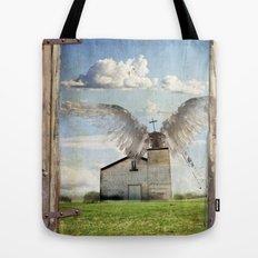Archangel Azrael Tote Bag