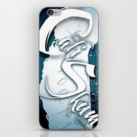 Cali Skum Logo iPhone & iPod Skin