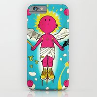 iPhone & iPod Case featuring Love & Hate by Kazze