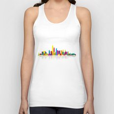 New WTC Skyline Unisex Tank Top