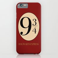 harry potter iPhone & iPod Cases featuring HARRY POTTER by Sophie
