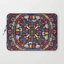 Mandala London Britain UK Laptop Sleeve