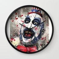 Captain Spaulding -The D… Wall Clock