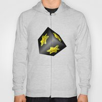 Daffodil On Black Hoody