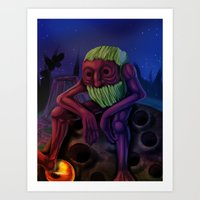 The Giant Art Print