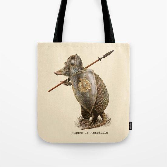 Armadillo (option) Tote Bag