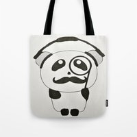 Professor Panda Tote Bag