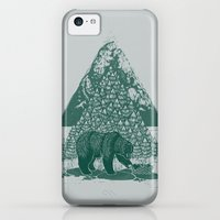 iPhone 5c Cases featuring Teddy Bear Picnic by Louise Hubbard