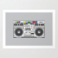 1 kHz #3 Art Print