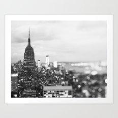 New York Noir Art Print