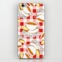 Cup Of Tea, A Biscuit An… iPhone & iPod Skin