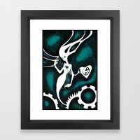 Code Green Framed Art Print