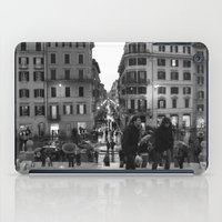 A Nice Day to be a Tourist iPad Case
