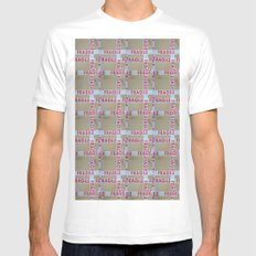 FRAGILE Mens Fitted Tee SMALL White