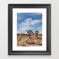 Joshua Tree National Par… Framed Art Print