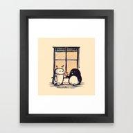 Best Friend Forever Framed Art Print