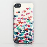 Heart Connections - Wate… iPod touch Slim Case
