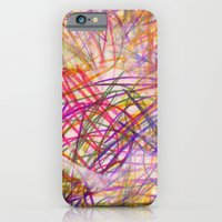 Ilaria Multi Scribble iPhone 6 Slim Case