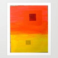 Sunset-Haze II Art Print