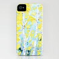 New England Paper Birch iPhone (4, 4s) Slim Case