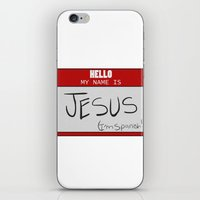 HELLO MY NAME IS... iPhone & iPod Skin