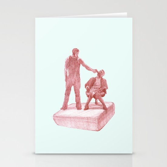 fight club  Stationery Card