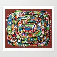 Planet Of All Good Peopl… Art Print