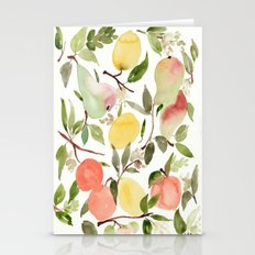 Frutas  Stationery Cards