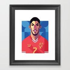 LS7   Reds Framed Art Print