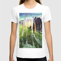horses T-shirts featuring horses by  Agostino Lo Coco