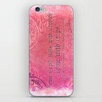 Cupid Kills - Shakespeare Love Quote - Much Ado iPhone & iPod Skin