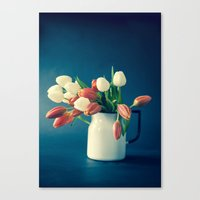 Tulips - Signs of Spring Canvas Print