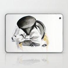 Ella Gajewska Hat. Top Hat. Fashion Illustration Laptop & iPad Skin