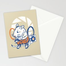 Rat Subject Stationery Cards