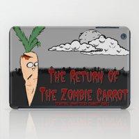 The zombie carrot iPad Case